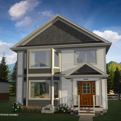 Two Storey Duplex House Plan Floor Plan