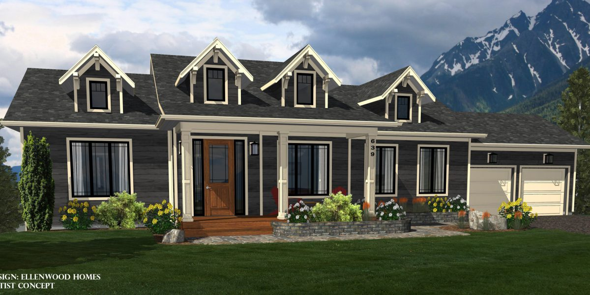 Ellenwood homes for House plans for mountain views