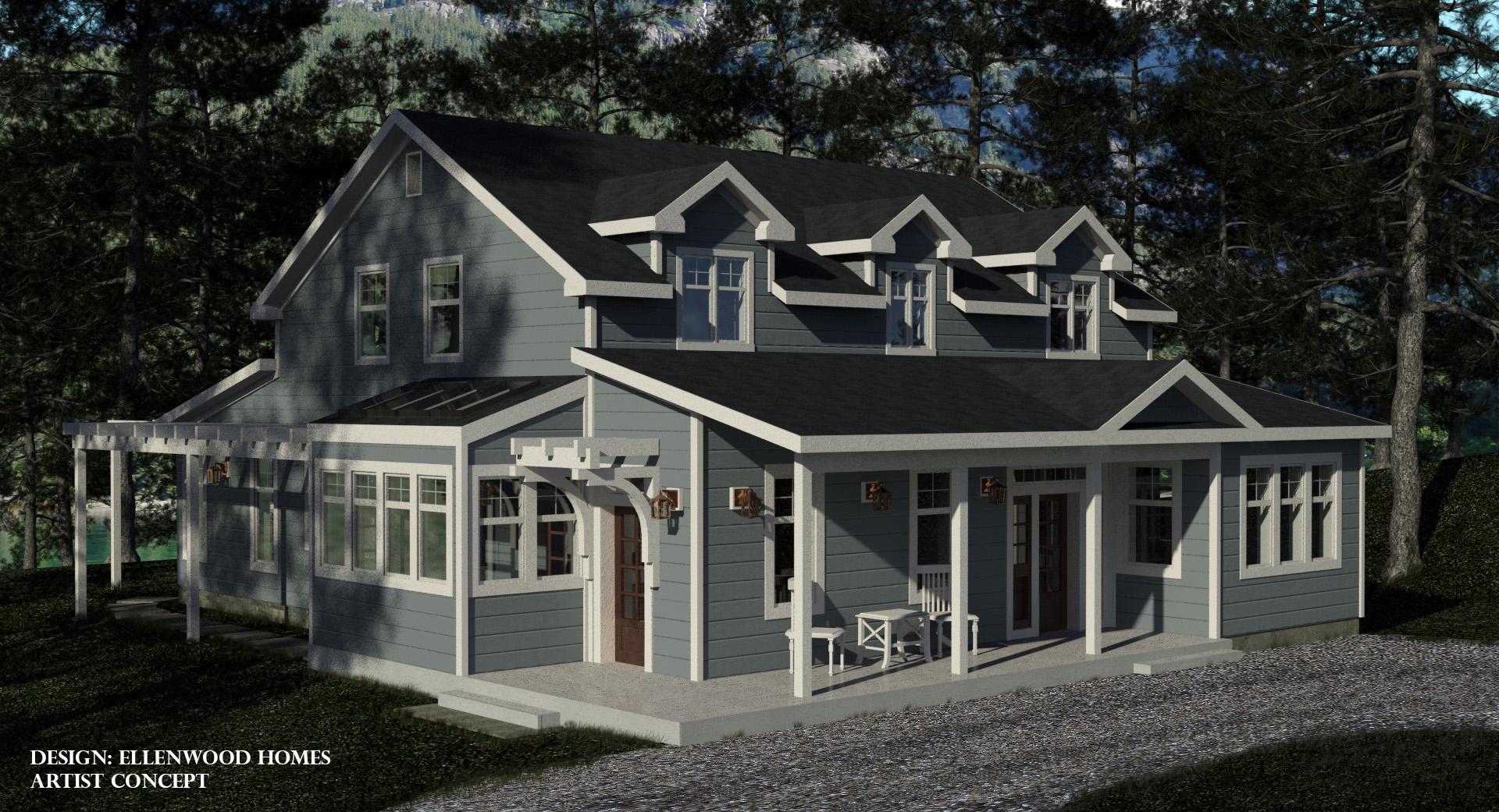 Ellenwood homes for Riverside house plans